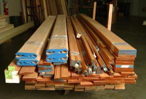 custom hardwood millwork