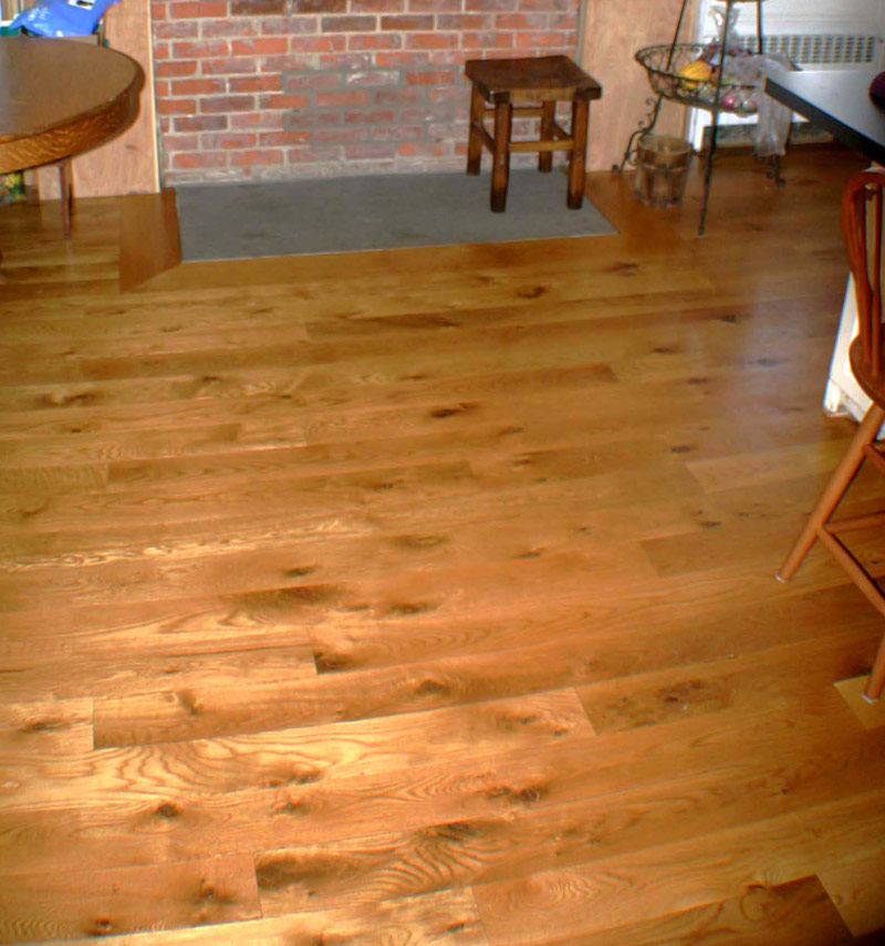 Kellogg Hardwood Lumber Wide Plank White Oak Flooring